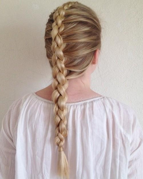 Chain Braid Hairstyle