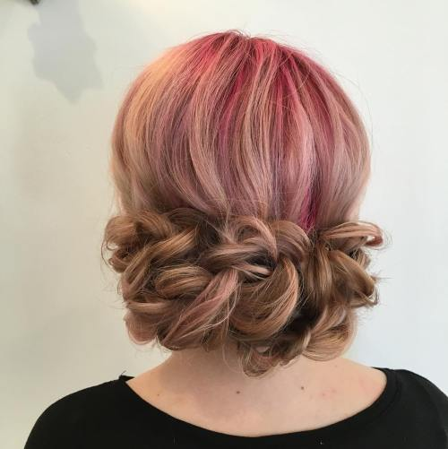 Low Loopy Updo