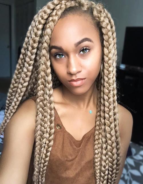 Blonde Dookie Braids For Girls