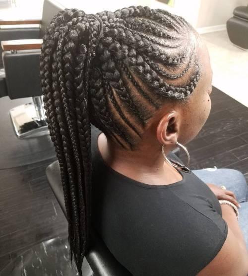 20 Gorgeous Ghana Braids For An Intricate Hairdo In 2018