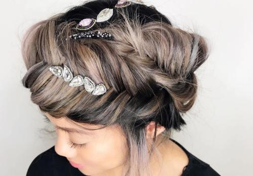 fishbone braid hairstyles