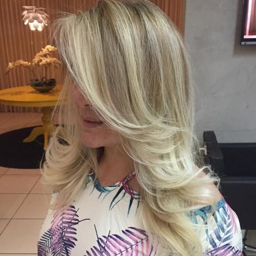 Medium-To-Long Layered Hairstyle
