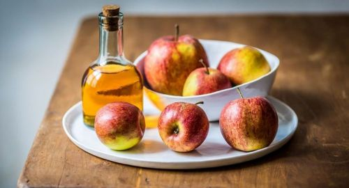 apple cider vinegar hair rinse