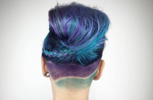 Pink And Purple Hair Styles: 20 Blue And Purple Hair Ideas