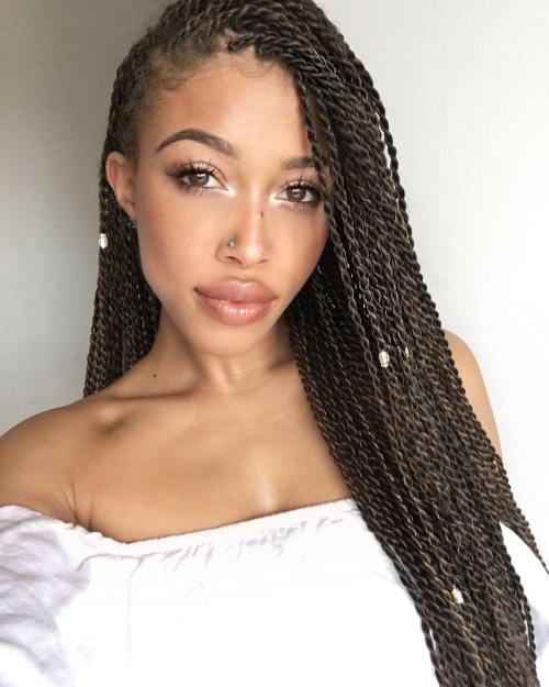 Thin Twist Braids