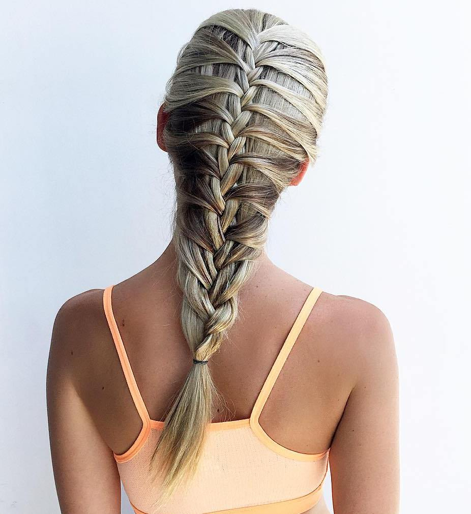 Tightly Braided Mermaid Braid