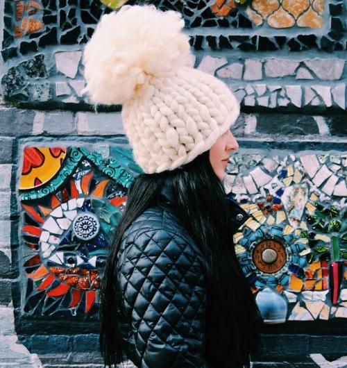 Big Loop Knitted Hat