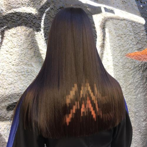 Pixels Hair Tattoo