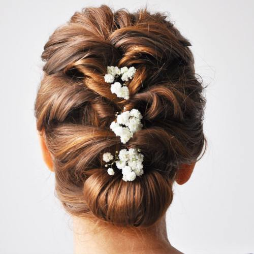 Wedding Twisted Mohawk Updo