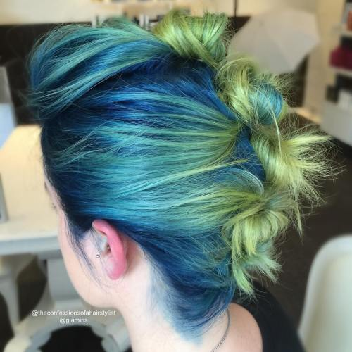 30 Icy Light Blue Hair Color Ideas for Girls - photo #15