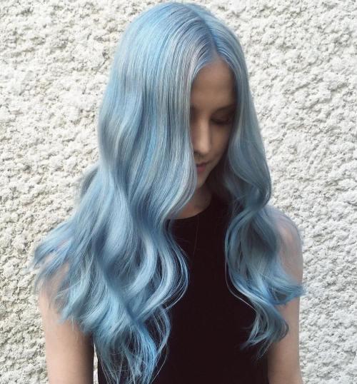 idees glace filles couleur clair cheveux