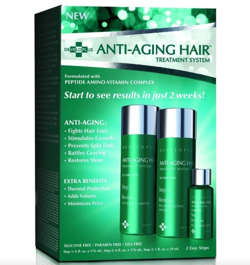 anti aging hair treatment
