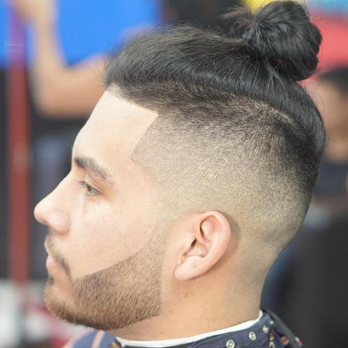 Lineup Undercut With Man Bun