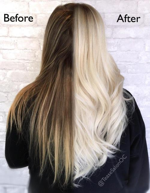 Before After Olaplex Treatment