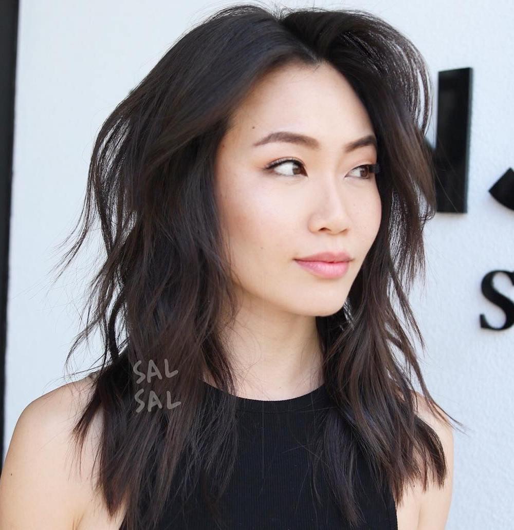 Asian medium hair
