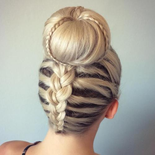 20 Volume Boosting Sock Buns You Ll Love To Try