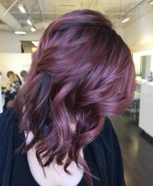20 Plum Hair Color Ideas For Your Next Makeover 2019 Update