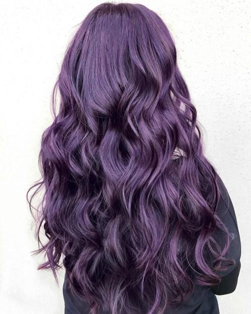 Aubergine Mermaid Hair