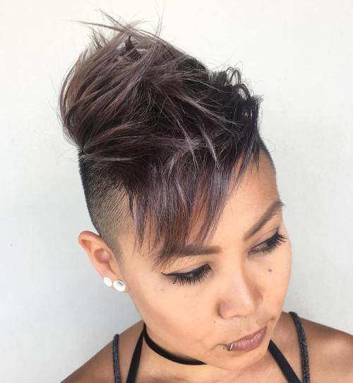 Asian Choppy Mohawk For Women