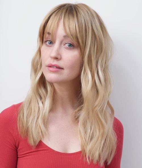 Long Caramel Blonde Hair