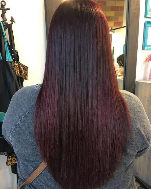 dark brown plum