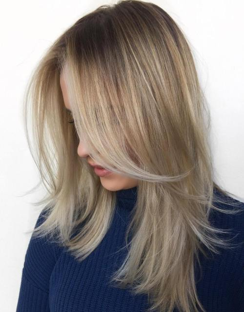 40 styles with medium blonde hair for major inspiration sytraight layered hairstyle for fine hair urmus Choice Image