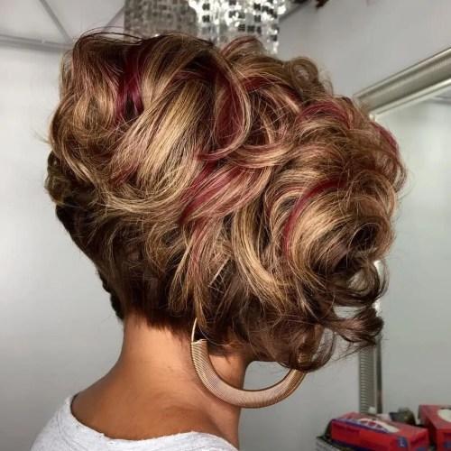 Short Curly Weave Bob