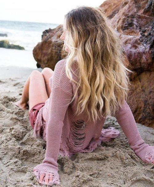 Balayaged Beach Waves