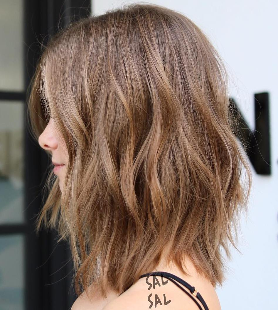 long bob with layers - 700×779