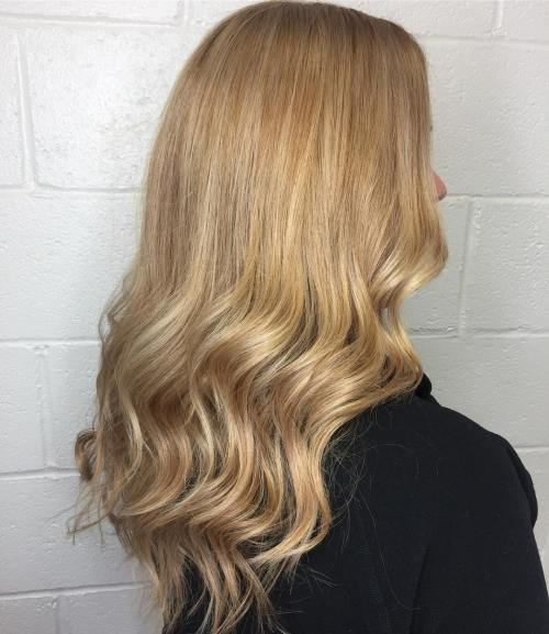 Warm Blonde Waves