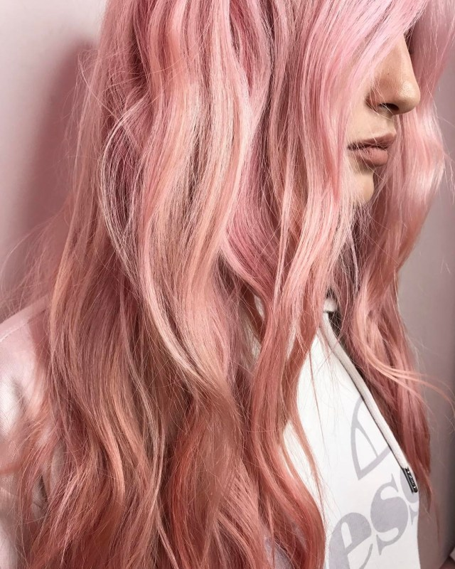 20 brilliant rose gold hair color ideas for 2019