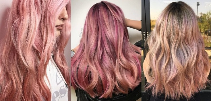 20 Rose Gold Hair Color Ideas + Tips How to Dye