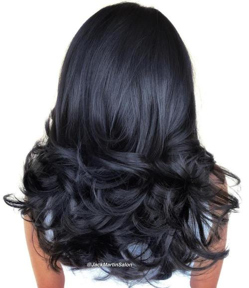 Curled Hairstyle For Long Hair