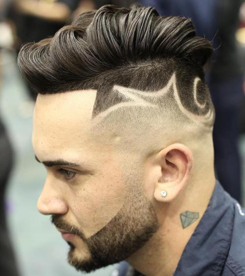Long Top High Fade