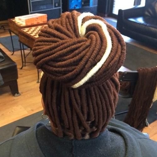 Bun For Yarn Locs