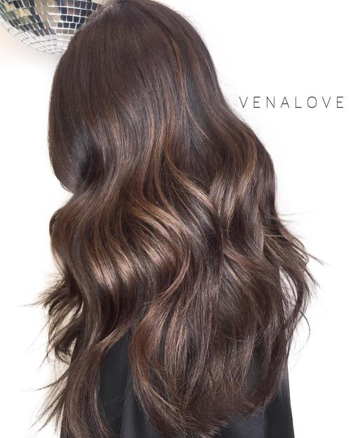 Layered Wavy Hairstyle For Long Hair