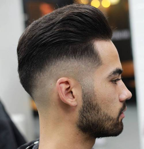 Long Top With Drop Fade