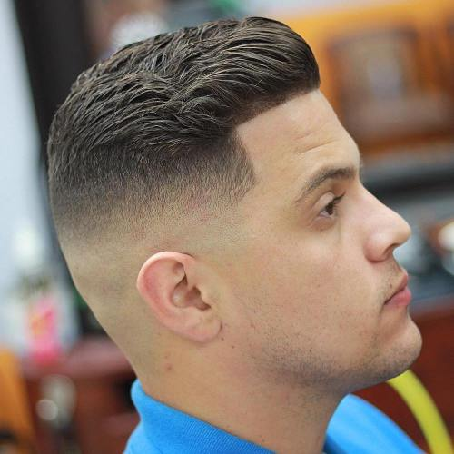 Skin Fade With Line Up