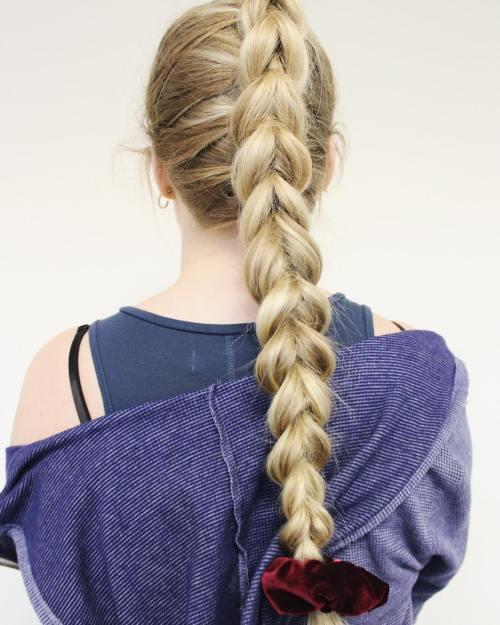 Mermaid Dutch Braid