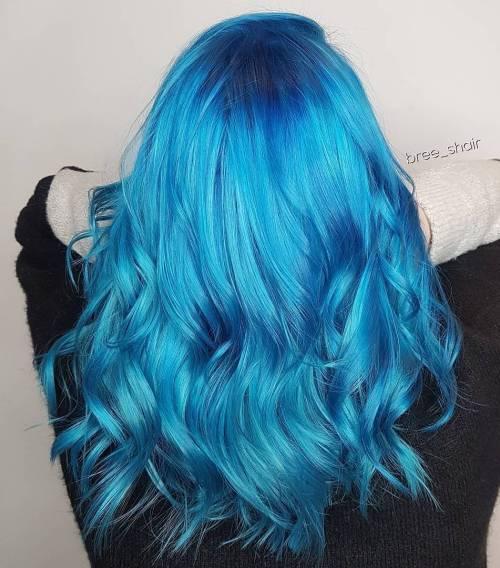Vibrant Blue Lob