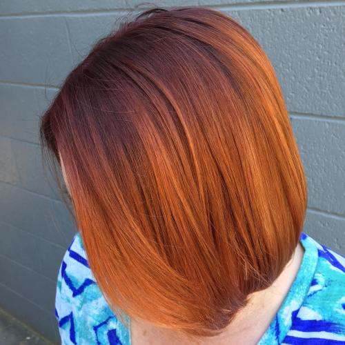 20 burnt orange hair color ideas to try bright bob sisterspd