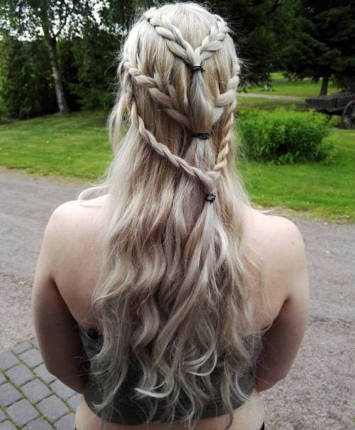 Wedding Hairstyles Games: 20 Game Of Thrones Inspired Hairstyles