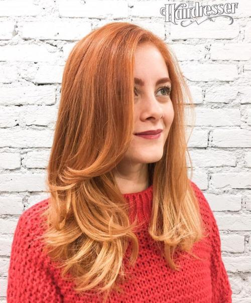 Strawberry Blonde Layeres