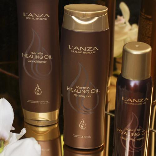 L'ANZA Keratin Healing Oil Silken Shampoo