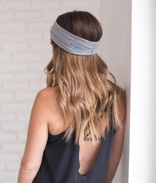 Loose Waves With Headband