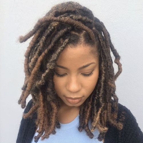 20 Cute And Creative Ideas For Short Faux Locs