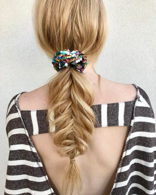 Pull Out Fishtail Braid