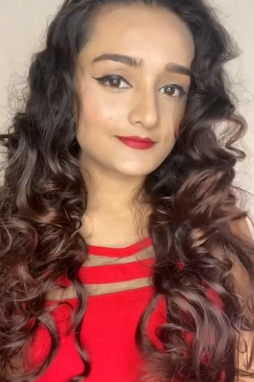 Tight Heatless Curls