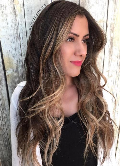 Blonde Face-Framing Balayage