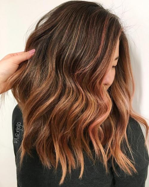 20 Natural Looking Brunette Balayage Styles